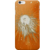 Impact #2 - Orange iPhone Case/Skin