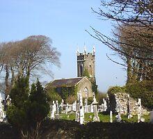 Kilconly Cemetery and Church by Cleburnus