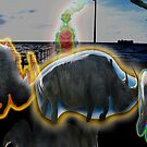 Hallucinogenic Rhinos by enigmatic