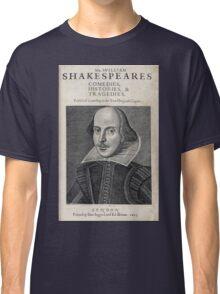 William Shakespeare Portrait Classic T-Shirt