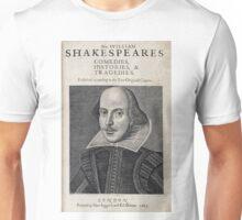 William Shakespeare Portrait Unisex T-Shirt