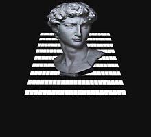 GridHead - Black and White Unisex T-Shirt