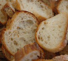 Artisan Bread Slices by BravuraMedia