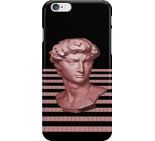GridHead - Red iPhone Case/Skin