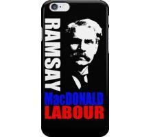 James Ramsay MacDonald, FRS iPhone Case/Skin