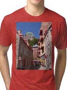 Fairmont Le Chateau Frontenac Tri-blend T-Shirt
