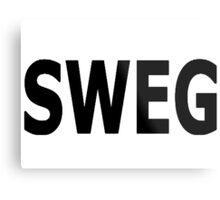 sweg Metal Print