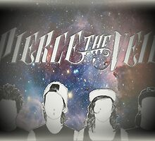 Pierce the Veil Galaxy Print by Emcee94