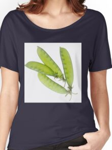 Snow Peas Women's Relaxed Fit T-Shirt