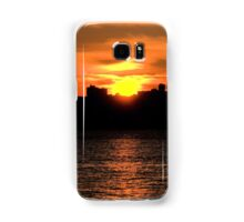 When The Sun Goes Down In The City Samsung Galaxy Case/Skin