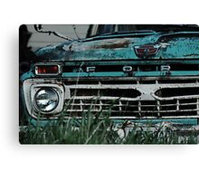 Ford Truck - On the Farm Canvas Print