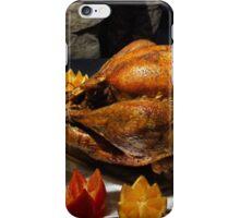 Thanksgiving Turkey for US Military Servicemen iPhone Case/Skin