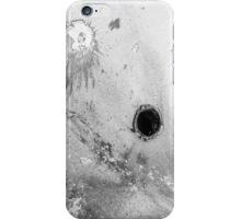 Impact #3 - Black & White iPhone Case/Skin