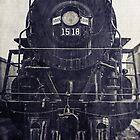 Vintage Steam Engine by Kadwell