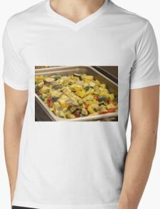 Steamed Vegetables Mens V-Neck T-Shirt