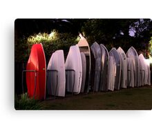 All lined Up And No Place To Go - The HDR Series Canvas Print