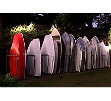 All lined Up And No Place To Go - The HDR Series Photographic Print
