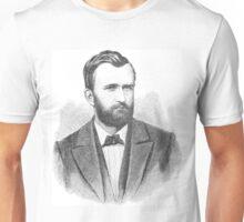 Ulysses S. Grant Illustrative Portrait  Unisex T-Shirt