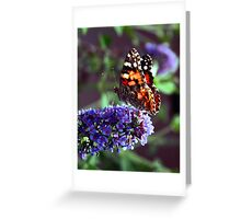Color Attracting Color Greeting Card