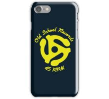 Old School Records iPhone Case/Skin