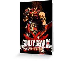 Guilty Gear Xrd- Sol Badguy Greeting Card
