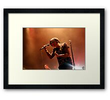Sleeping With Sirens 02 Framed Print