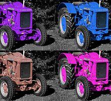 Tractors by David  Hall