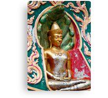 Buddha Niche Canvas Print