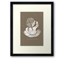 I Can Touch My Nose! Framed Print