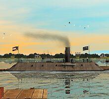 CSS Virginia (Merrimack) by Walter Colvin
