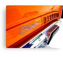 74 Valiant Charger Canvas Print