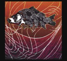 Fish in Net by Lyn Fabian