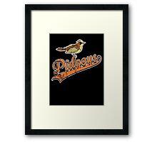Pidgeys Framed Print
