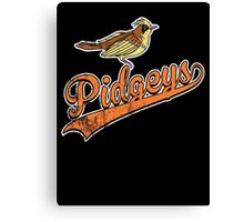 Pidgeys Canvas Print