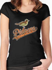 Pidgeys Women's Fitted Scoop T-Shirt
