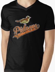 Pidgeys Mens V-Neck T-Shirt