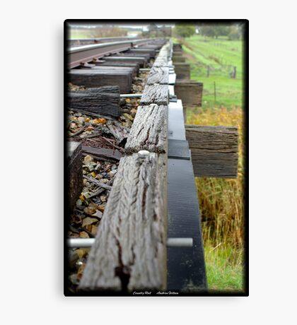 Country Rail,  Canvas Print