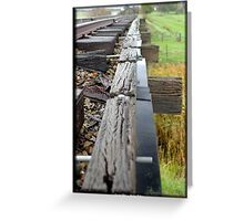 Country Rail,  Greeting Card