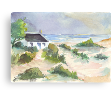 Fisherman's Cottage in South Africa Canvas Print