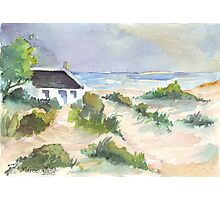 Fisherman's Cottage in South Africa Photographic Print