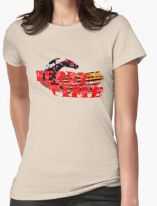 Derby Time Womens Fitted T-Shirt