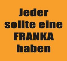 Franka T-Shirt German by Hallo Wildfang