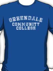 Greendale Community College (Distressed) T-Shirt