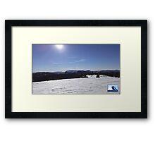 Snowy Scene 2 Framed Print