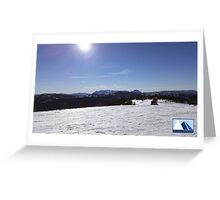 Snowy Scene 2 Greeting Card