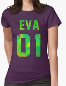 EVA-01 Revision (Neon Genesis Evangelion) Womens Fitted T-Shirt