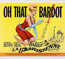 Brigitte Bardot - La Parisienne - 1957 by okeydokey