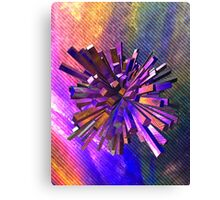 Coloured Geometric Shape Canvas Print
