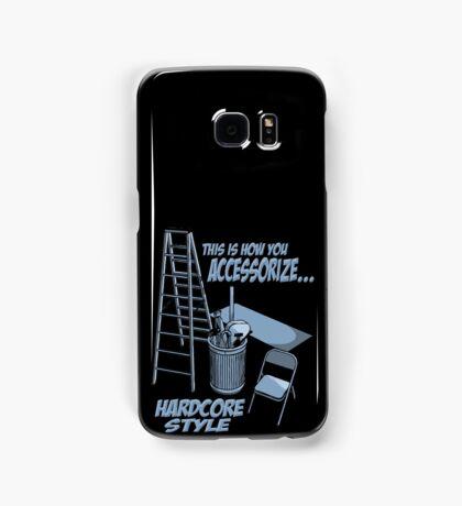 Hardcore accessorizing Samsung Galaxy Case/Skin