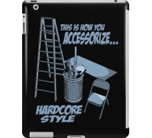 Hardcore accessorizing iPad Case/Skin